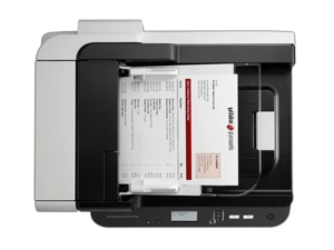 slide {0} of {1},zoom in, HP Scanjet Enterprise Flow 7500 Flatbed Scanner