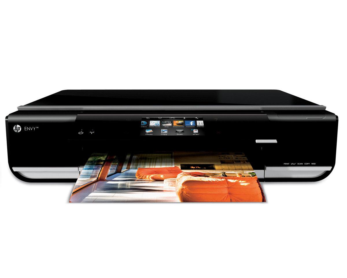 hp envy 114 cq811a e all in one color inkjet printer efax scan rh tigerdirect com HP ENVY 4502 Printer Manual HP ENVY 100 D410a Printer