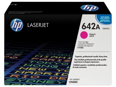 HP 642A Magenta Original LaserJet Toner Cartridge