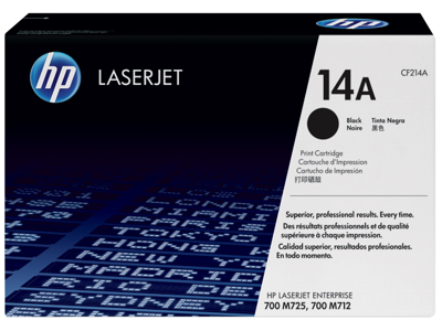 HP 14A Black Original LaserJet Toner Cartridge