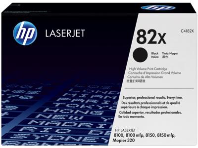HP 82X High Yield Black Original LaserJet Toner Cartridge