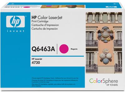 HP 644A Magenta Original LaserJet Toner Cartridge