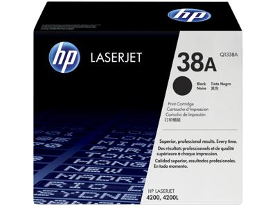 HP 38A Black Original LaserJet Toner Cartridge