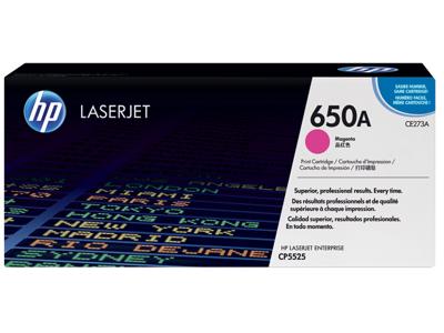 HP 650A Magenta Original LaserJet Toner Cartridge