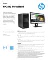 HP Z840 Workstation Datasheet (English AMS))v2