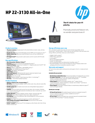 HP 22-3130 All-in-One