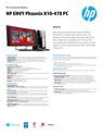 HP ENVY Phoenix 810-470 PC