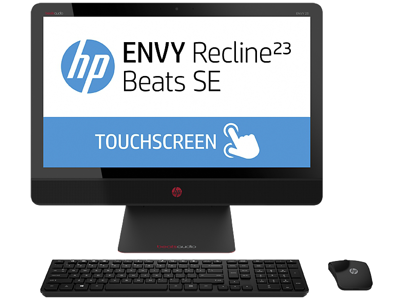 HP ENVY Recline 23-m230 TouchSmart Beats SE All-in-One Desktop PC (ENERGY STAR)