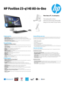 HP Pavilion 23-q140 All-in-One