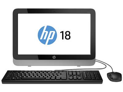 HP 18-5110 All-in-One Desktop PC
