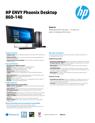 HP ENVY Phoenix Desktop 860-140