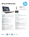 HP 22-3110 All-in-One