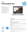 AMS HP Chromebook 14 G4 datasheet