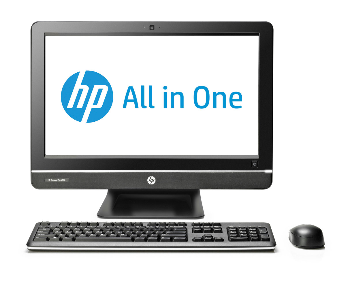 slide 1 of 5,show larger image, hp compaq pro 4300 all-in