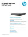 Desktop Mini External HDD-IO Module Data Sheet