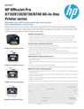 HP OfficeJet Pro 8710/8720/8730/8740 All-in-One Series Printer