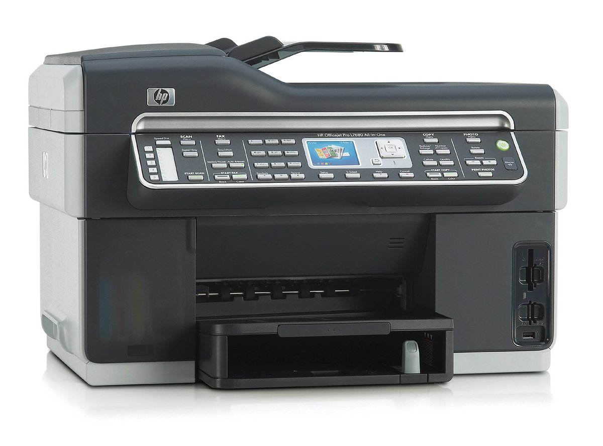 HP Officejet Pro L7680 All-in-One Color Inkjet Printer - 4800 dpi, 35 ppm,  USB, PictBridge at TigerDirect.com