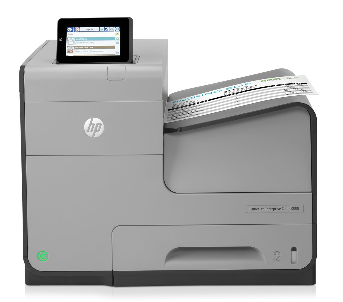 Impresora HP OfficeJet Enterprise Color X555dn - DATA MEMORY