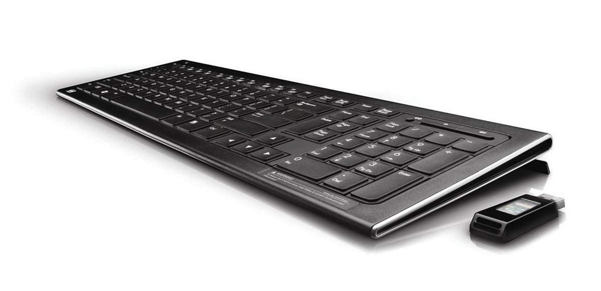 3a56944dacb HP All-in-One Wireless - Keyboard and mouse set - 2.4 GHz - for ...