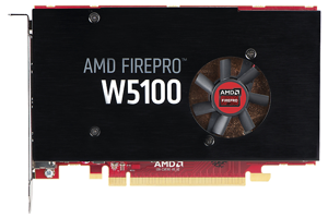 AMD FirePro W5100 4GB Graphics Card