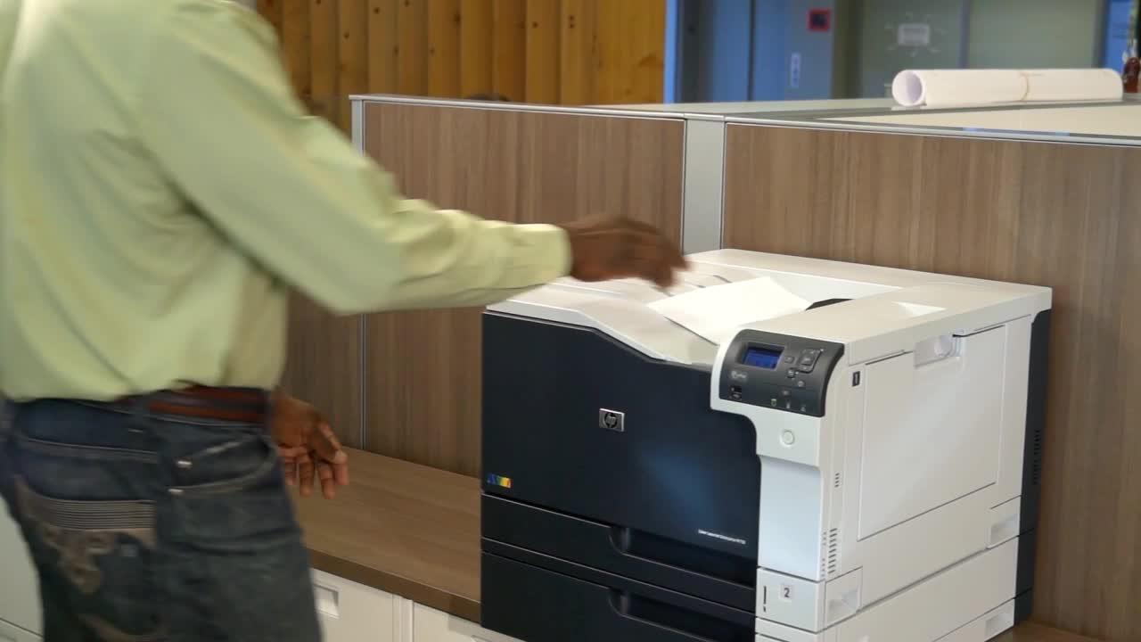 Hp hp color laser printers 11x17 - Slide 1 Of 10 Show Larger Image Hp Color Laserjet Enterprise M750dn
