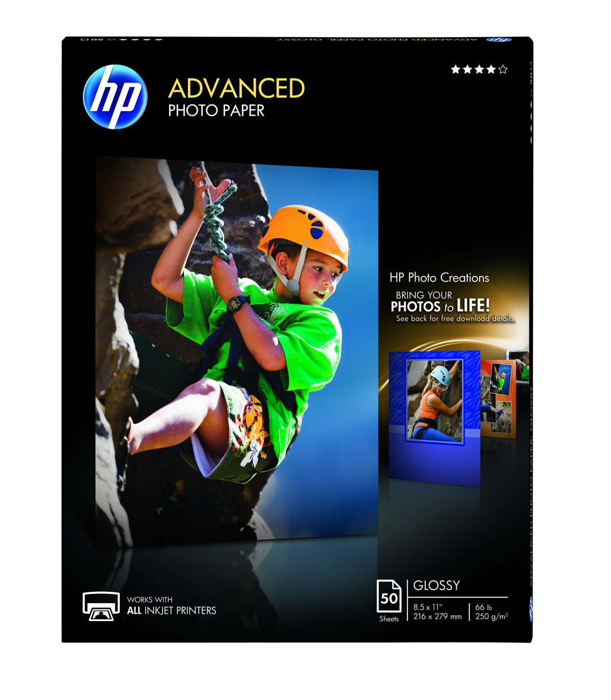 Color printing office depot - Hp Advanced Photo Paper 8 12