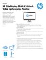 HP EliteDisplay E240c 23.8-inch Monitor(English(AMS))