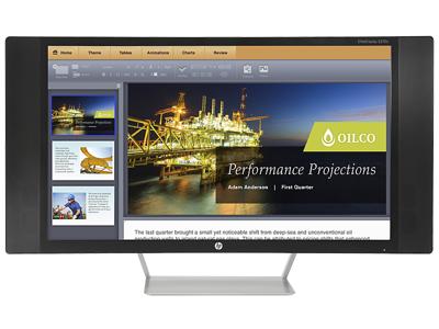 HP EliteDisplay S270c 27-in Curved Display