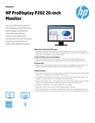 HP ProDisplay P202 20-inch Monitor
