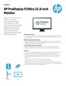 HP ProDisplay P240va 23.8-inch monitor(English(AMS))