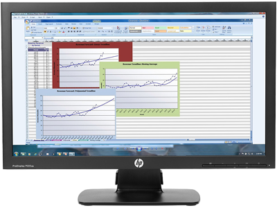 HP ProDisplay P222va 21.5-inch Monitor