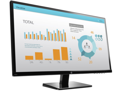 HP V272 27-inch Monitor (ENERGY STAR)