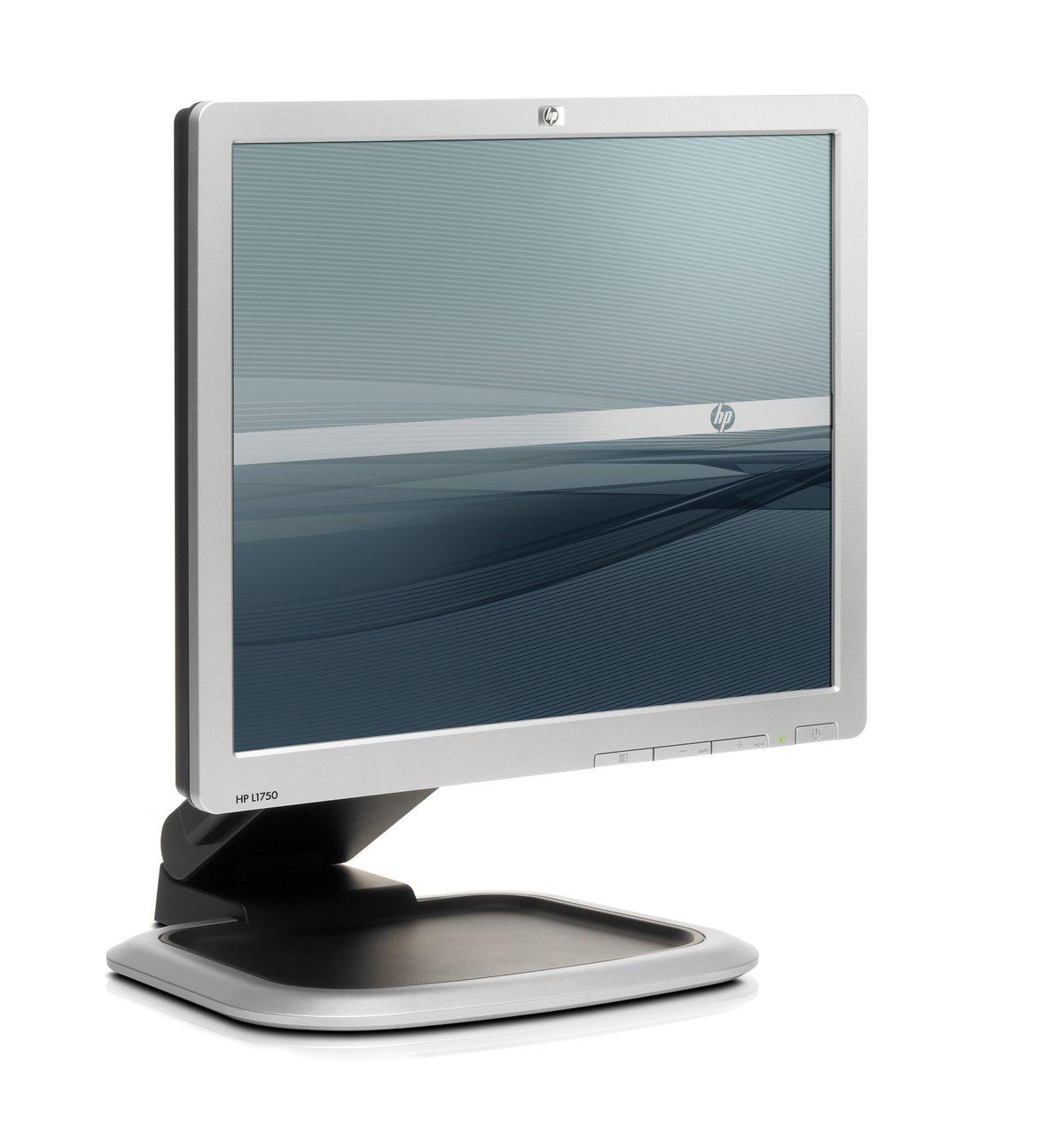 HP L1750 17 LCD Monitor - 1280x1024 SXGA, 800:1 Contrast Ratio, 5ms, DVI,  VGA, USB Hub, Tilt, Height Adjustable at TigerDirect.com