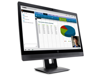 HP EliteDisplay E240c 23.8-inch Video Conferencing Monitor (ENERGY STAR)