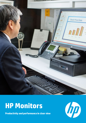 HP Commercial Monitors Productivity and performance in clear view