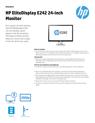 HP EliteDisplay E242 24-inch Monitor(English(AMS))