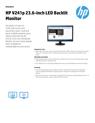 AMS HP V241p 23.6-inch LED Backlit Monitor Datasheet