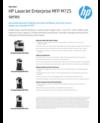 HP LaserJet Enterprise MFP M725 series