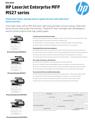 HP LaserJet Enterprise MFP M527 series