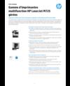 Gamme d'imprimantes multifonction HP LaserJet M725 gérées