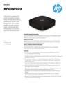 AMS HP Elite Slice Datasheet