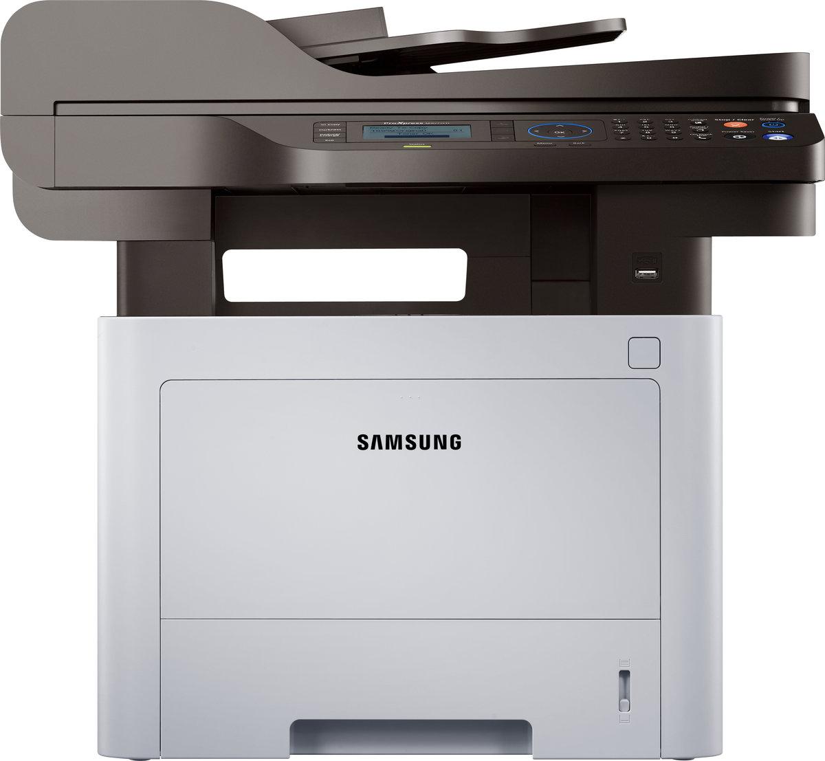 slide 1 of 3,show larger image, impresora láser multifunción samsung proxpress sl-m4072fd