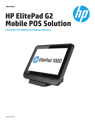 HP ElitePad G2 Mobile POS Solution