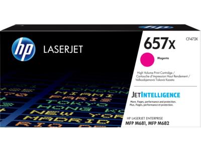 HP 657X High Yield Magenta Original LaserJet Toner Cartridge