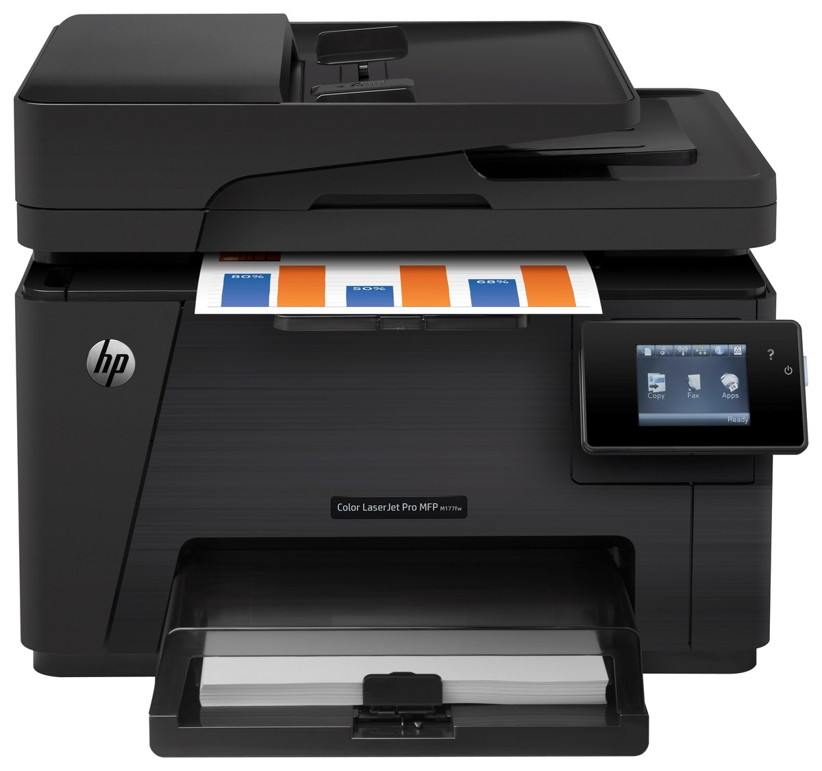 Color printers laser - Hp Laserjet Pro Wireless Color Laser All In One Printer Copier Scanner Fax M177fw By Office Depot Officemax