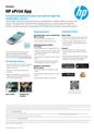 HP ePrint App data sheet
