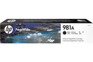 HP 981A Black Original PageWide Cartridge
