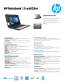 HP Notebook - 15-ay053nr (Touch) (ENERGY STAR)