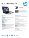 HP 15-ac156nr Notebook