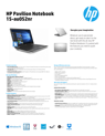 HP Pavilion 15-au052nr (ENERGY STAR)